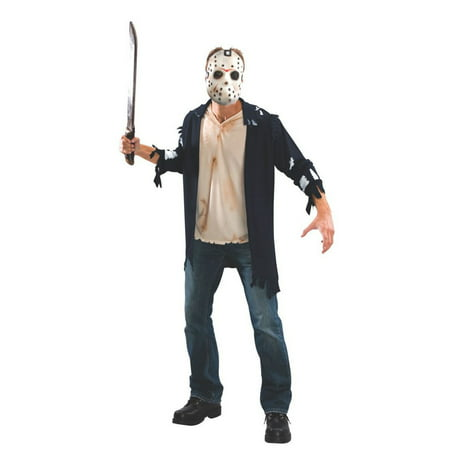 Halloween Horror Adult Jason Adult Costume](Jabbawockeez Halloween Horror Nights)