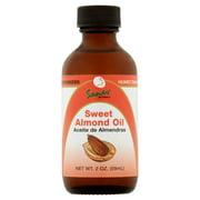 Sanar Naturals Sweet Almond Oil Natural Moisturizer, 2 oz