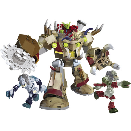 Mega Bloks World of Warcraft Goblin Schreder Play Set