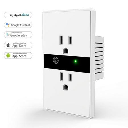 Bonrich Wifi Smart Plug,Mini Socket Outlet Smart Switch