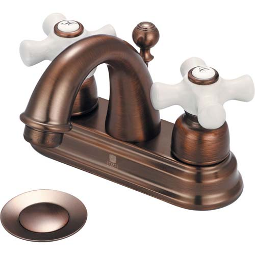 Pioneer Brentwood Double Handle Centerset Bathroom Faucet