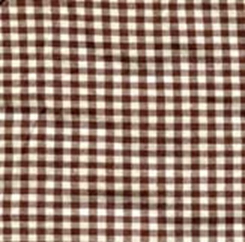 Babyluxe 100% Organic Cotton Crib Sheet- with Safety 'Stay On' Corners (Brown Check)