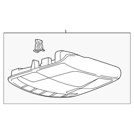 Genuine OE Ford Overhead Console (Overhead Console Ford)