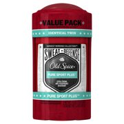 Old Spice Sweat Defense Antiperspirant Pure Sport Plus Twin Pack 2.6 oz
