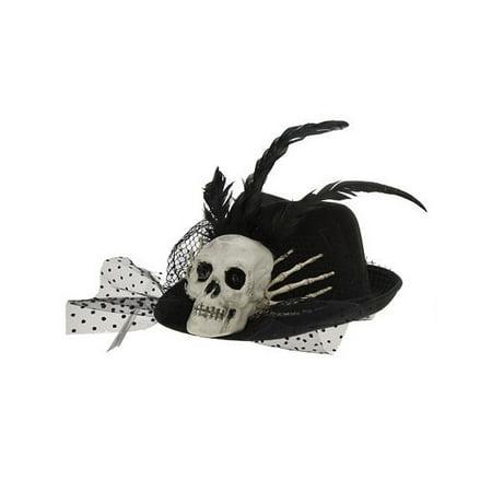 Halloween Hat Skeleton Cowboy Fedora - - Christmas Fedora