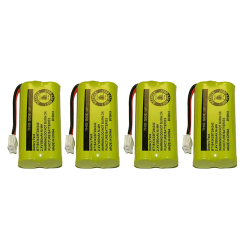Replacement Battery BATT-6010-4 for VTech 6010 (4 Pack)