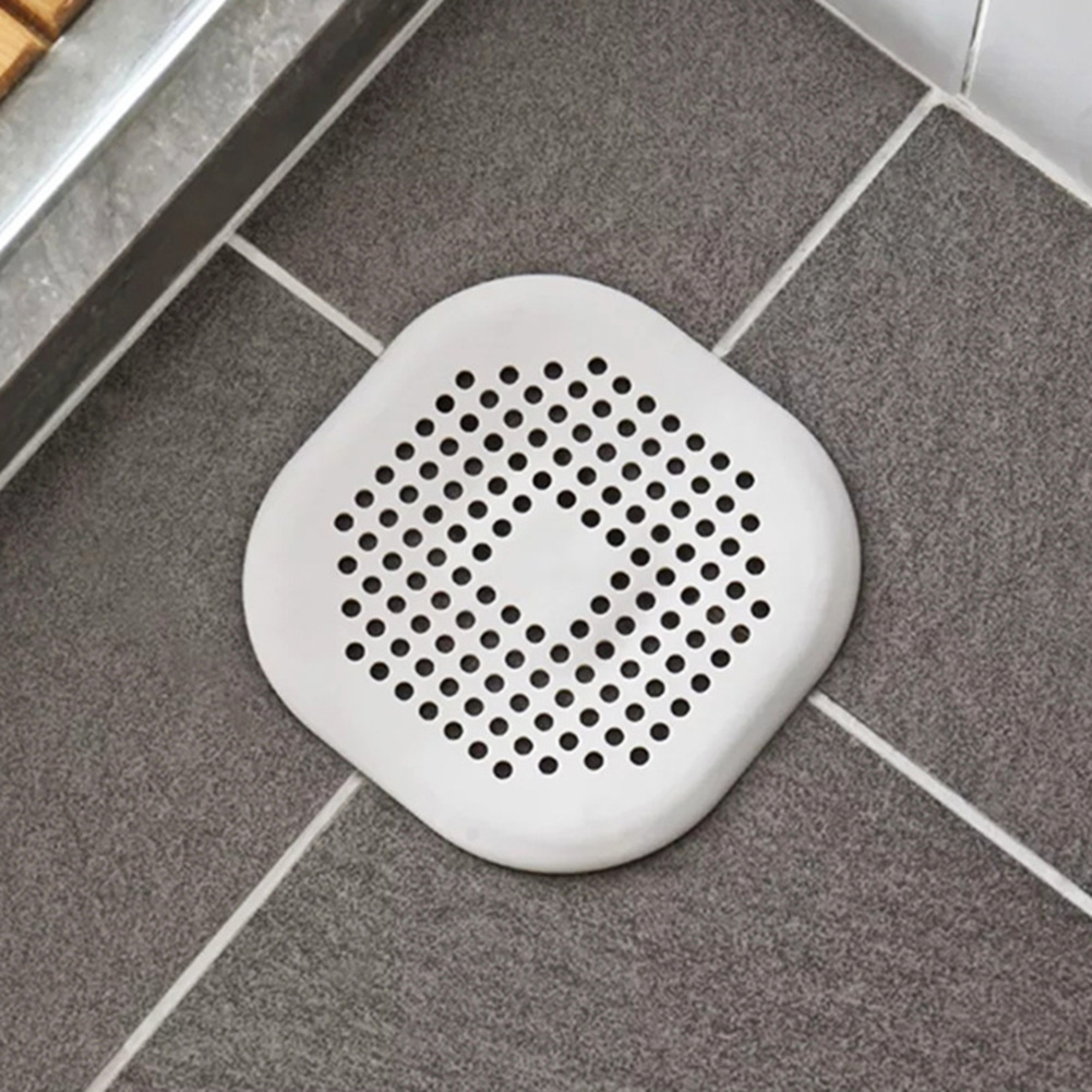 New Kitchen Sink Stopper Filter Hair Shower Bathtub Drain Cover Suction BB