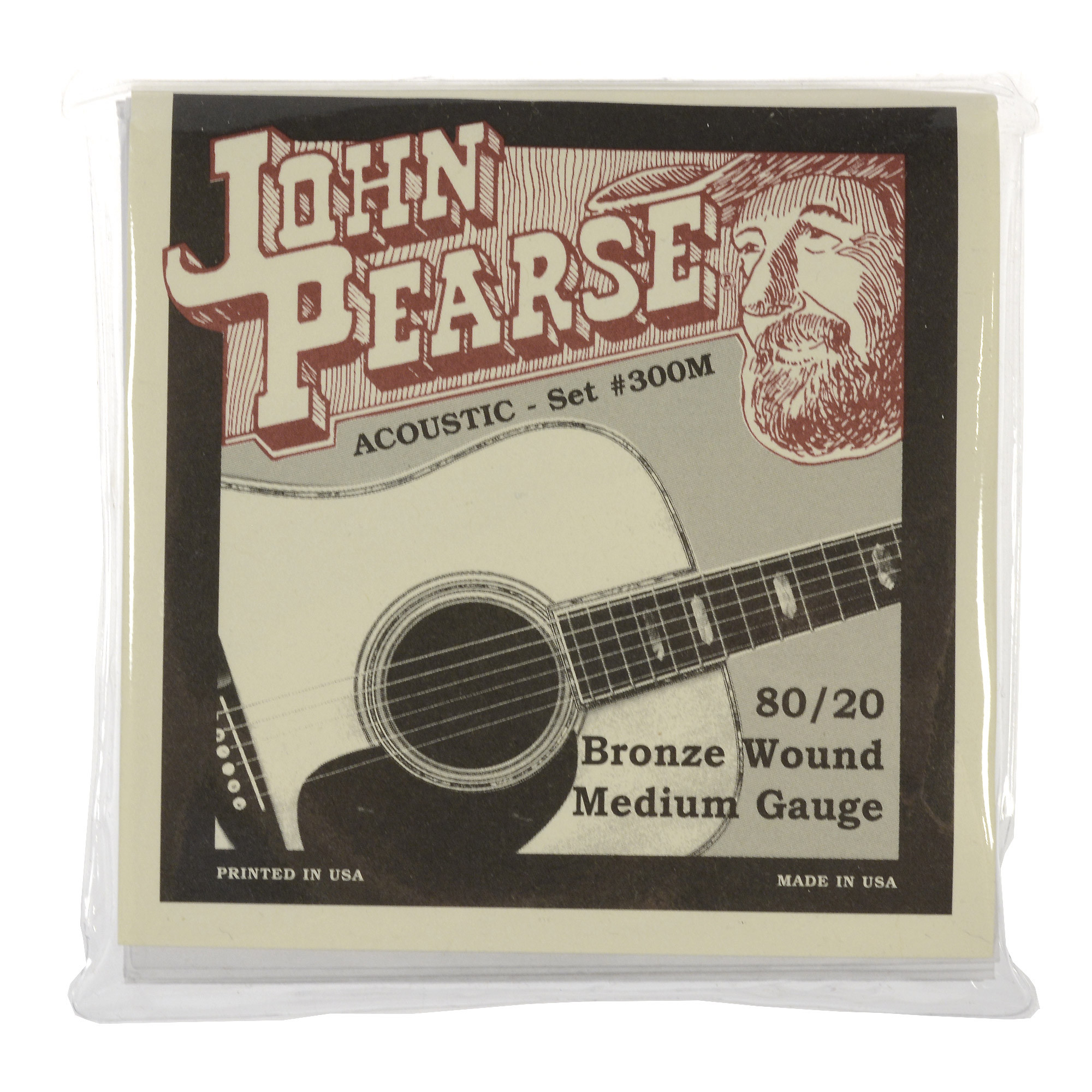 John Pearse Medium Gauge 80 20 Bronze Strings by John Pearse