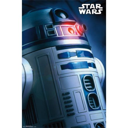 Star Wars - R2-D2 Profile Poster Print (R2 D2 Posters)