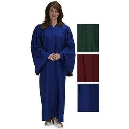 CBCS TS997BLU-59 Cambridge V Neck Choir Robe, Blue - 59 in. (Choir Robes)