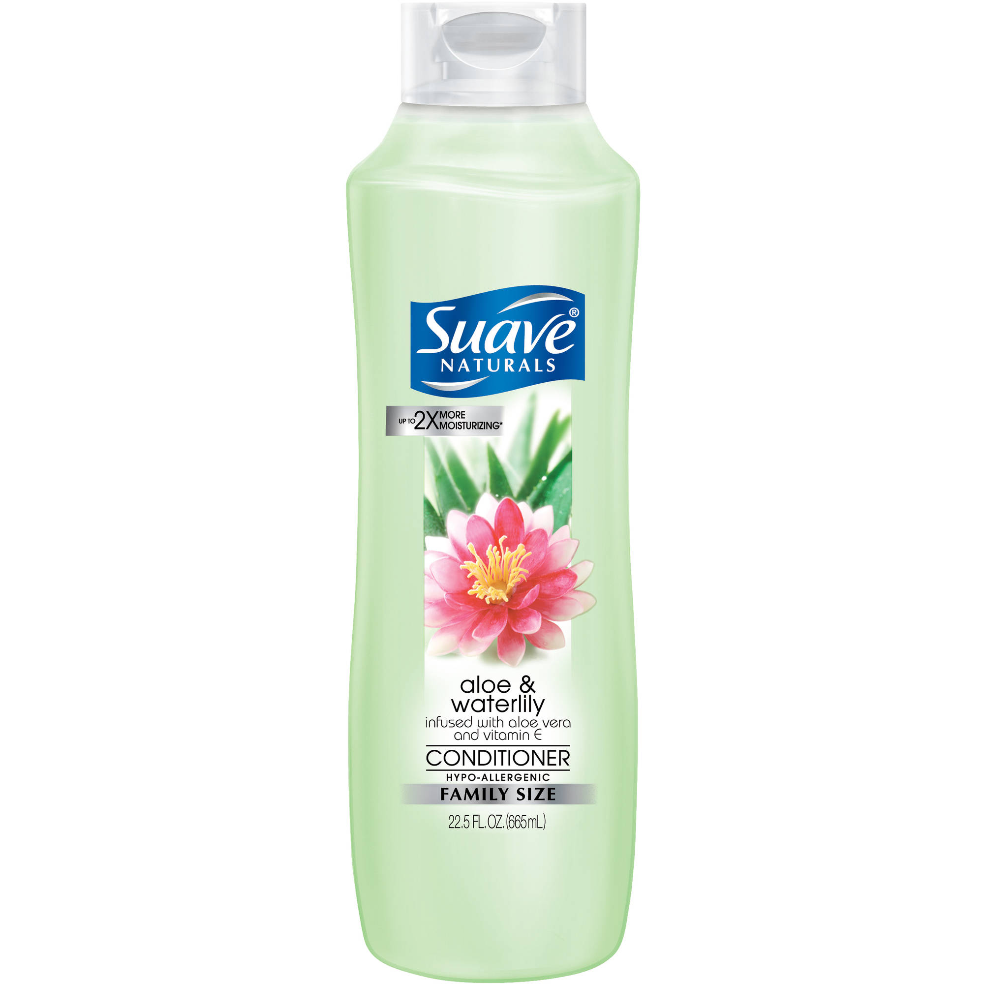Suave Naturals Aloe & Waterlily Conditioner, 22.5 oz