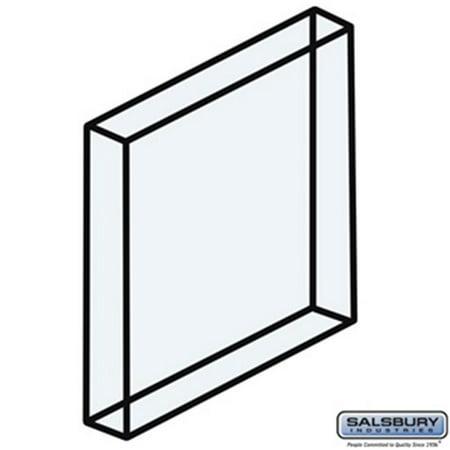SalsburyIndustries 2271 Plexiglass Window For Aluminum Mailbox Door