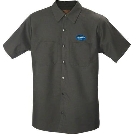 Park Tool MS-1.2 Mechanic Shirt XLG Charcoal