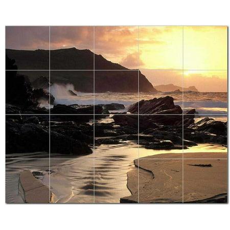Sunset Picture Ceramic Tile Mural Kitchen Backsplash Bathroom Shower 4