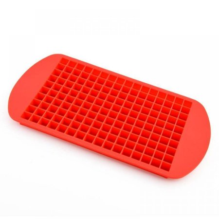 160 Grids Ice Cube Trays Mini Tiny Silicone Ice Cube Trays and Candy Grids Small Ice Maker Tiny Ice Cube Trays Chocolate Mold Mould Maker Molds for Kitchen Bar Party Drinks thumbnail