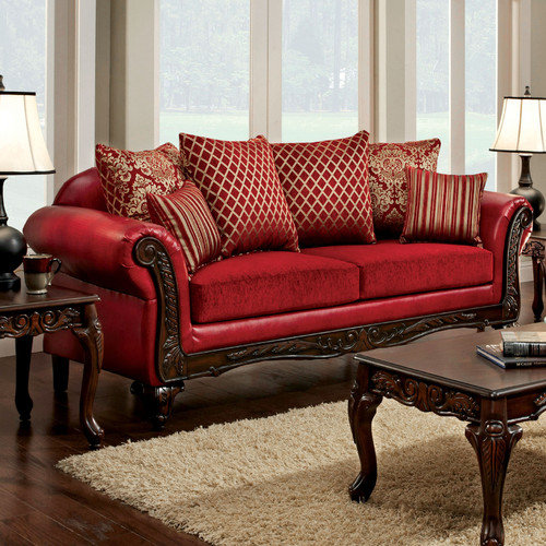 Hokku Designs Rubieanne Pillow Back Sofa