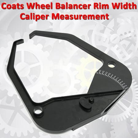 Wheel Tire Balancer Rim Width Caliper Measurement Measuring Tool Kit For Coats ()