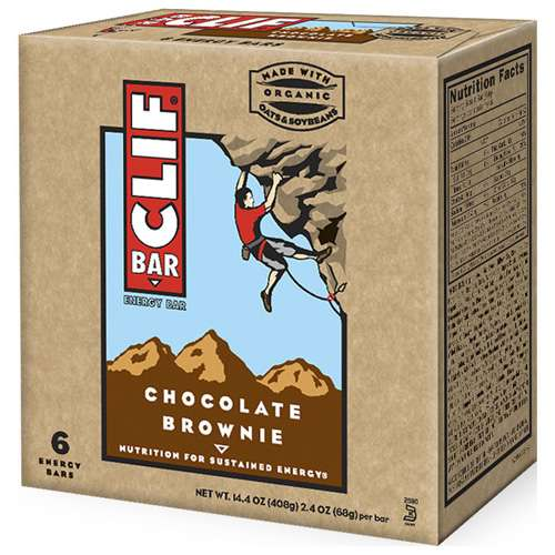 Clif Chocolate Brownie, 6ct
