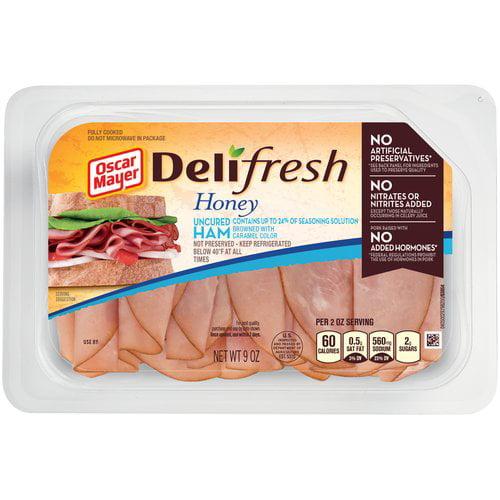 Oscar Mayer Deli Fresh Honey Ham Lunch Meat, 9 oz