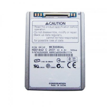 MK3008GAL 30GB Toshiba Hard Drive HDD Replacement For iPod Video 5th Generation ()