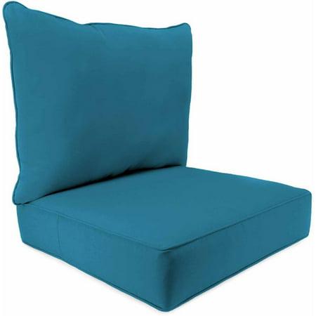 Jordan Manufacturing Outdoor Patio 2 Piece Deep Seat Boxed Chair Cushion