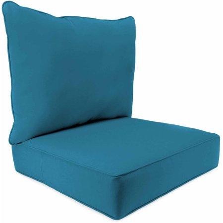 Jordan Manufacturing Outdoor Patio 2 Piece Deep Seat Boxed Chair Cushion