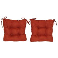 Square Cushion for Dining Chair - Set of 2 (Spice)