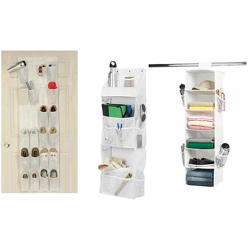 Get It Together Over the Door, Six-Shelf and Wall Organizers Bundle