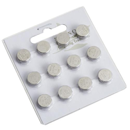 Club Pack of 12 Replacement AG-10 Button Cell Batteries