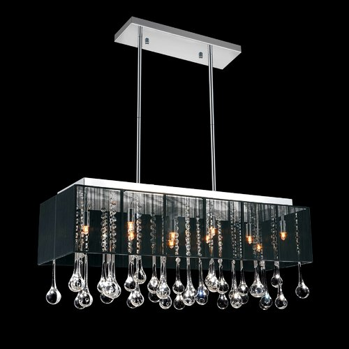Crystal World 10-Light Crystal Pendant by Crystal World