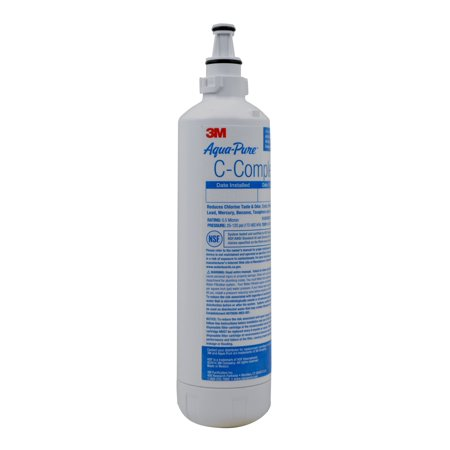 3M Aqua-Pure Under Sink Dedicated Faucet Replacement Water Filter Cartridge AP Easy C-Complete, 6 per case, 5618044 ()
