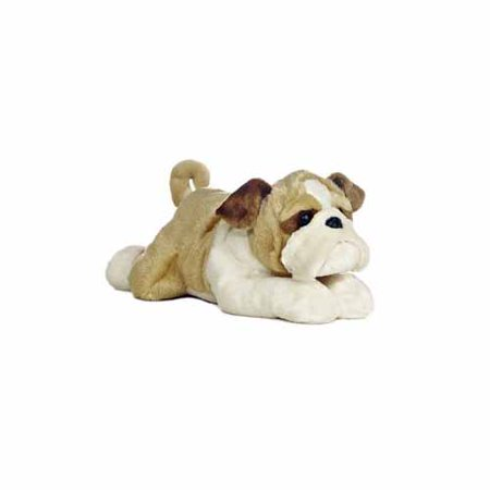 Wills The Bulldog Flopsie by Aurora - 31497 - Stuffed Bulldog