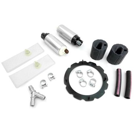 [2] Genuine Walbro GSS342 255LPH Fuel Pump Ford F150 Lightning SVT 1999-2004 With HFP-K950 Kit and Y-Fitting ()