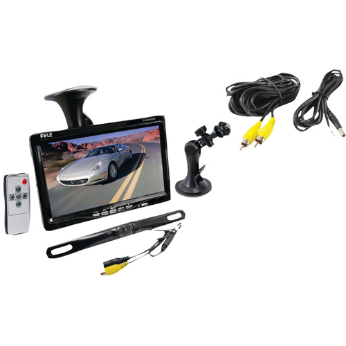 "Pyle PLCM7500 7"" Window Suction Mount TFT LCD Widescreen Video Monitor"