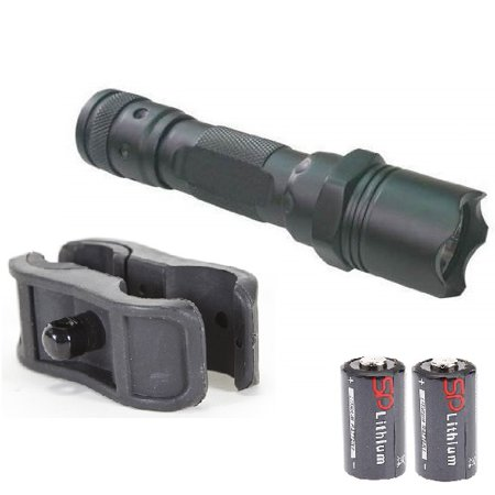 Ultimate Arms Gear Flashlight LED Tactical Light Kit For Mossberg  500/590/835/Maverick 88 12/20 Gauge Shotgun Light Kit Barrel/Mag Tube Light  Clamp