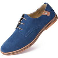 ecb508ff375d9 Marino Suede Oxford Dress Shoes for Men - Business Casual Shoes - Classic  Tuxedo Men s Shoes
