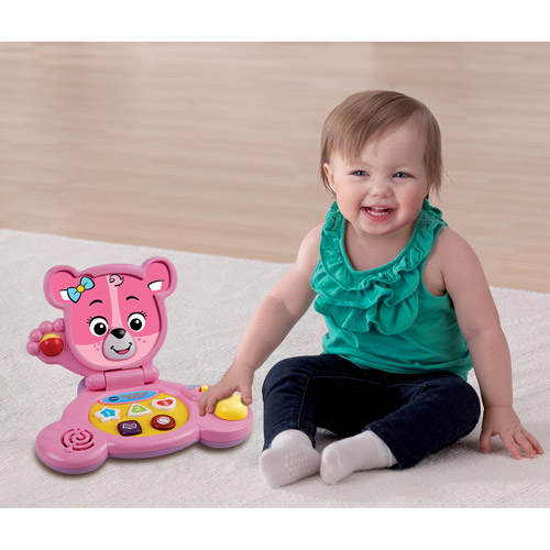 VTech Bear's Baby Laptop, Pink