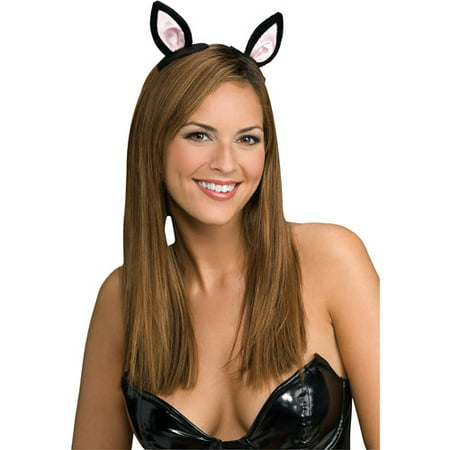 Clip-On Cat Ears Adult Halloween Accessory](Cats Ears Halloween)