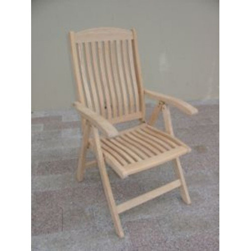 Royal Teak by Lanza Products Roble Folding Dining Arm Chair