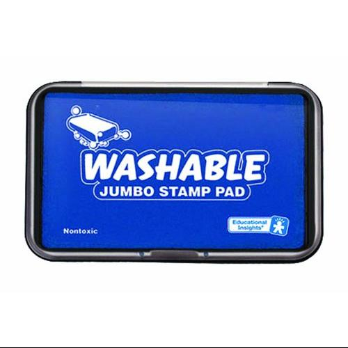 Educational Insights Jumbo Washable Stamp Pad Blue (1427) Multi-Colored