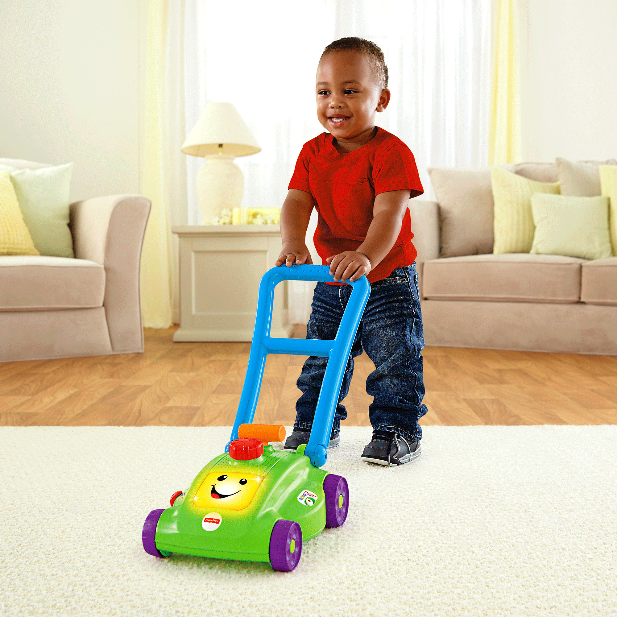 Fisher Price Laugh & Learn Smart Stages Mower by Fisher-Price