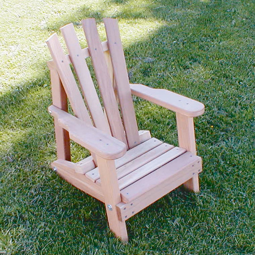 Creekvine Designs Cedar Furniture and Accessories Child Solid Wood Adirondack Chair