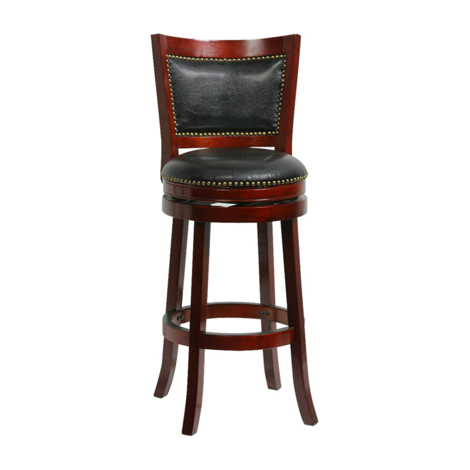 Boraam Bristol Swivel Bar Stool, 29\ by Boraam Industries Inc