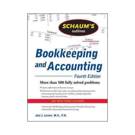 Schaums Outline Of Bookkeeping And Accounting