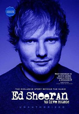 Ed Sheeran: To Live Music (DVD) by Music Video Dist