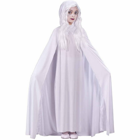 Kids Friendly Ghost Costume (Gossamer Ghost Child Halloween)