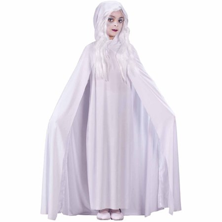 Gossamer Ghost Child Halloween Costume](Victorian Ghost Maid Halloween Costume)