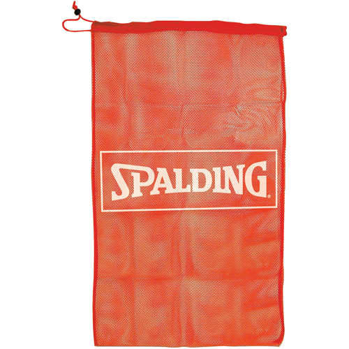 Spalding Mesh Equipment Bag, Red by Spalding