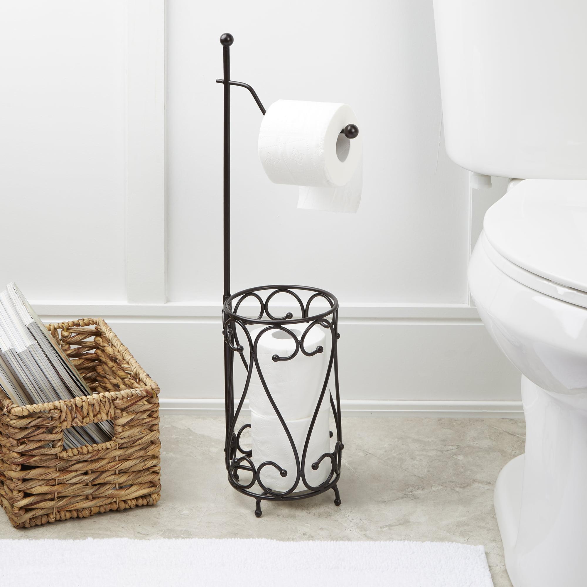 Bath Bliss Chrome Toilet Paper Holder Walmartcom