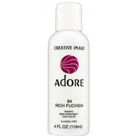 Adore Shining Semi Permanent Hair Color 84 Rich Fuchsia